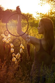 ☮ American Hippie Bohemian Style ~ Boho Summer ☀️ . . Free Spirit Dreamcatcher ready!
