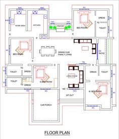 Square House Plans, Free House Plans, House Layout Plans, Free Floor Plans, Single Floor House Design, Home Design Floor Plans, Simple House Design, Basement House Plans, Duplex House Plans