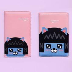 Kakao Friends Neo PU Leather 2017 New Year Diary Scheduler Planner S M 173 #KakaoFriends