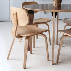 Thompson Chair SE in Various Finishes design by Gus Modern Modern Furniture Toronto, Contemporary Furniture, Dinning Room Sets, Modern Dining Chairs, Dining Tables, Mid Century Modern Design, All Modern, Side Chairs, Coasters