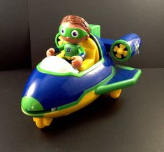 Super Why Flyer Rocket Ship Shooter Airplane Wyatt 3 Discs Learning Curve PBS Ki #LearningCurvePBSKids