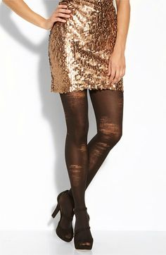 Pretty Polly Shredded Tights available at #Nordstrom