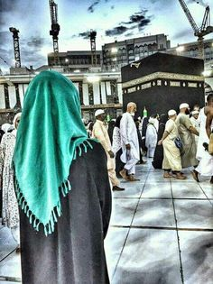 i love Allah the one and only god. Muslim Girls, Muslim Couples, Muslim Women, Masjid Haram, Mekkah, Anime Muslim, Hijab Cartoon, Islamic Paintings, Mode Hijab