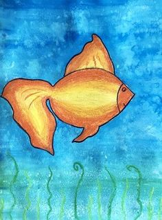 Learn to Paint This Beautiful Fish - Barris Gumbley Simple Oil Painting, Watercolor Painting Techniques, Painting Tutorials, Oil Pastel Art, Oil Pastels, Summer Art Activities, Art Basics, Watercolor Fish, Beautiful Fish