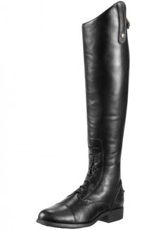 bf771ab4dfbb Ariat Womens Heritage Contour Field Zip Long Boot - Black. Horse Riding  BootsBlack ...