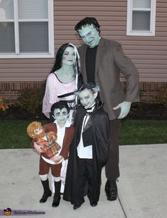 The Munsters - 2012 Halloween Costume Contest
