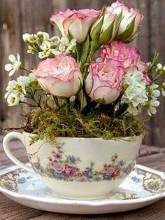 New flowers bouquet gift floral arrangements wedding centerpieces ideas Deco Floral, Arte Floral, Floral Design, Ikebana, Flower Designs, Floral Arrangements, Flower Arrangement, Tea Party, Beautiful Flowers