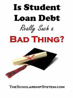 Student loans are one of the most popular ways for people to pay for college. But, it's important to remember that student loan debt is still debt. Apply For Student Loans, Student Loan Payment, Federal Student Loans, Paying Off Student Loans, Financial Aid For College, Scholarships For College, Education College, College Physics, College Classes