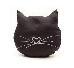 Resultado de imagen para black cat pillow
