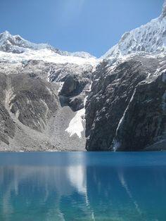 Glacial lake in Peru - Laguna 69