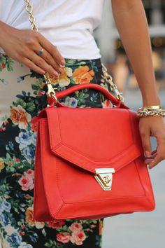 Floral + coral