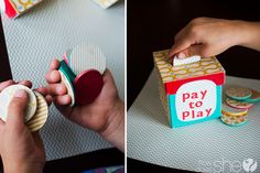 """i like this idea of """"pay to play"""" for tv, ipad etc for kids. they need to clean or do chores before earning play time"""