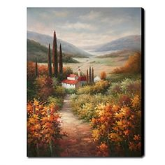 Oil Paintings - Landscape Paintings - Hand-painted Oil Painting Landscape Portrait