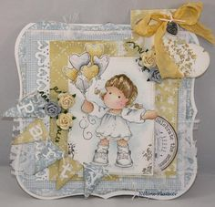 neline's magnolia blog Magnolia Blog, Magnolia Stamps, Magnolias, I Card, Card Ideas, Knit Crochet, Addiction, Birthdays, Knitting