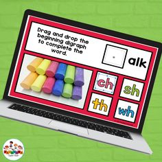 This identifying Beginning Digraph activity is designed for the interactive digital classroom using Google Drive (TM). Your students will drag and drop the correct beginning digraph to complete the word at the top of the page. These work great for distance learning or online learning. This activity set includes: * 32 slides for identifying beginning digraphs using real world examples Teacher Created Resources, Teacher Resources, Kindergarten Activities, Learning Activities, English Language Arts, Hands On Learning, Distance, Student, Words