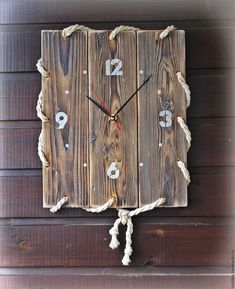 Painting woodwork in and around your home Clock Painting, Clock Art, Diy Clock, Clock Decor, Diy Wall Decor, Diy Wall Clocks, Clock Ideas, Wooden Projects, Wood Crafts