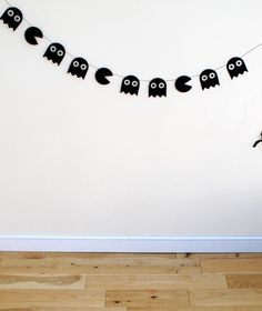 How to: Pac-Man Halloween Garland