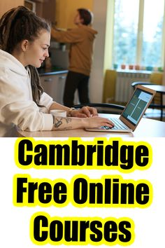 Online Certificate Programs, Online Courses With Certificates, Printable Certificates, Free Certificate Courses, College Life Hacks, College Classes, Best Online Courses, Free Courses, Cambridge