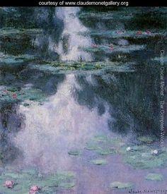 Water Lilies14 - Claude Oscar Monet