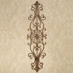 Anzia Wrought Iron Wall Grille