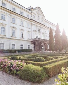 After the press trip to London with @samsungaustria I travelled to Salzburg to spend a couple of days with nature at @schlossleopoldskron. I always select the places I visit very carefully and @schlossleopoldskron is one of those places that I've been wanting to visit for a long time now. Needless to say I am happy to be here Salzburg, London Travel, Girl Photography, Couple, Mansions, House Styles, Places, Happy, Instagram Posts
