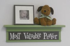 Kids Sports Room Decor  Most Valuable Player Sign by NelsonsGifts, $35.00
