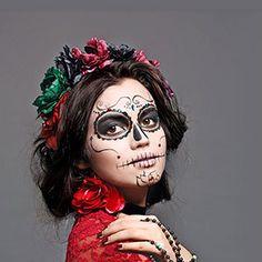 Maquillaje Halloween: Calavera mexicana