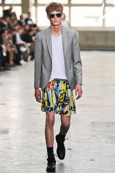 not a fan, of the Skirt, but i do like the blazer and under shirt. Design by Topman