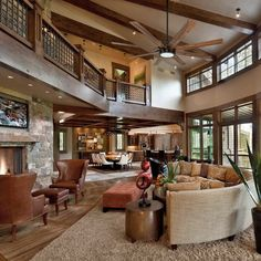 Traditional Living Room Design Ideas, Pictures, Remodel and Decor Dream Home Design, My Dream Home, Dream House Interior, Beautiful Houses Interior, Beautiful Interiors, Design Living Room, Design Bedroom, Barn House Plans, Barn Plans
