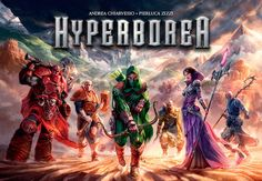 The mythical realm of Hyperborea was ruled by an ancient civilization that used…