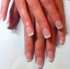 Natural French acrylic :) so classic love these :) x x x