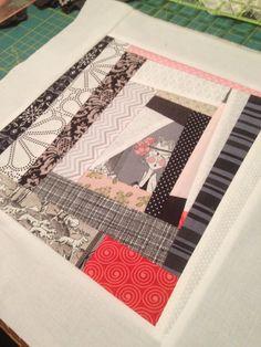 Crazy Ghastlie blocks. Have twelve that will finish as a quilt.