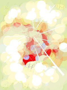 Alison Jardine -- dandelions in light