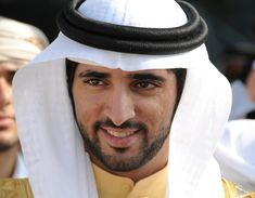His Highness Sheikh Hamdan bin Mohammed bin Rashid Al Maktoum.  Sheikh Hamdan, born 14 November 1982, is the Crown Prince of Dubai. He is popularly known as Fazza (فزاع), the name under which he publishes his poetry.