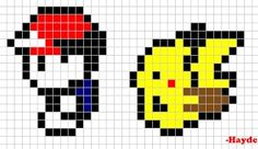 Red & Pikachu on a journey #Pokemon #PokemonRedBlue #Pikachu #Gameboy #videogames #gaming #games #pixelart #nerd #animals #Nintendo #3DS Link to my afterlife ebook inspired on 2Pac: http://amzn.to/2eANk1y