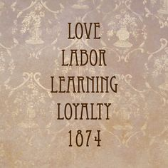 Love, labor, learning, and loyalty! Gamma Phi Beta means so much to me. There's a reason here for a reason above. A lifetime of sisterhood flowing with love! <3