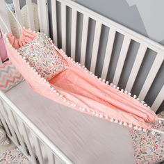 Hammock with pompoms for baby newborn and toddler Hanged Cradle Bassinet Hammock Swing Baby Crib Hammock Shower Sensory Swing Baby Hammock by BabynestShop on Etsy Kids Hammock, Baby Hammock, Hammock Swing, Baby Swings, Baby Bassinet, Baby Cribs, Bassinet Ideas, Hanging Cradle, Sensory Swing