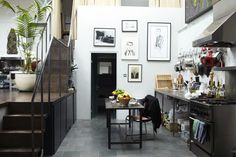 Hugo Tillman — Artist and Photographer, House, Holloway, London.