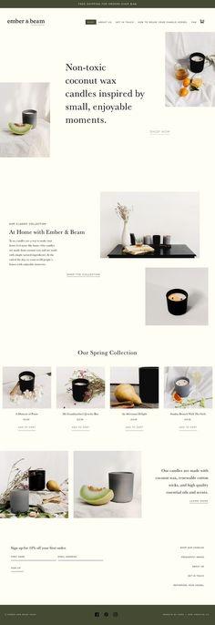 Here + Now Creative Co. - Here + Now Creative Co. - Web Design - Website Design by Here and Now Creative Co. Web Design Trends, Design Web, Ecommerce Web Design, Web Banner Design, Blog Design, Portfolio Design, Graphic Design, Website Layout, Web Layout