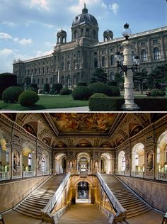 The Natural History Museum located in Vienna, Austria