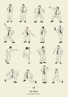 The David Brent Dance