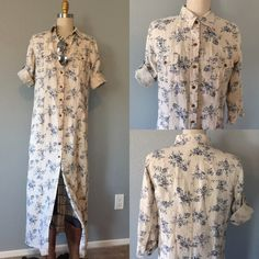 ️Beautiful 100% linen Dress  100% linen NWOT Eddie Bauer button up dress. I have never worn it and I hate to post it, but it has just hung in my closet and it deserves a good home please see measurements as not all sizes are the same                                                                 ✅bundle ✅ all reasonable offers will be considered  ✅ No Trading  Poshmark rules only‼️Measurements taken laying flat       Ⓜ️Chest 20 Ⓜ️Length from the neck down 50              Ⓜ️3/4 sleeve 18…