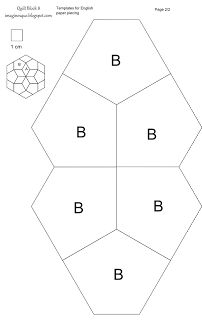 Imaginesque: Quilt Block 8: Pattern and Template