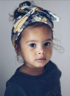 Handmade Floral Head Wrap | MadebyJeniffer on Etsy