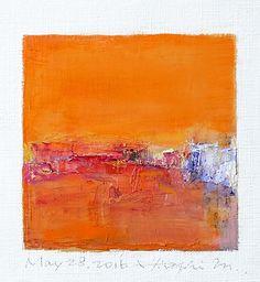 may282016 | Oil on canvas  9 cm x 9 cm  © 2016 Hiroshi Matsumoto www.hiroshimatsumoto.com