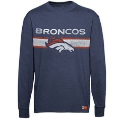 Denver Broncos Victory Pride Long Sleeve T-Shirt - Charcoal