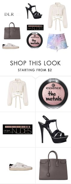 """""""DLRBOUTIQUE.COM"""" by ice87 ❤ liked on Polyvore featuring Cinq à Sept, Charlotte Russe and Yves Saint Laurent"""