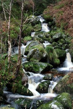 Glencree Waterfall in the Wicklow Mountains of Ireland. Photo by Dave G. Kelly.