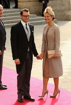 Princess Victoria Photos - The Wedding Of Prince Guillaume Of Luxembourg & Stephanie de Lannoy - Official Ceremony - Zimbio