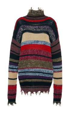 Frayed Edge Sweater by ETRO for Preorder on Moda Operandi